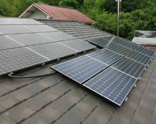 ⑤太陽光発電パネル増設