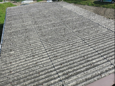 スレート屋根 洗浄