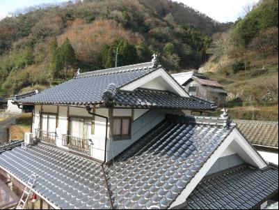 屋根 シングル材修繕の依頼