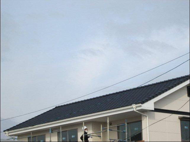 倉敷市西田地内 新築 シャープ太陽光発電設置