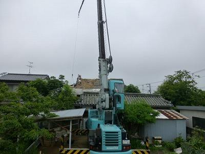 8月1日 M様邸屋根工程 詳細