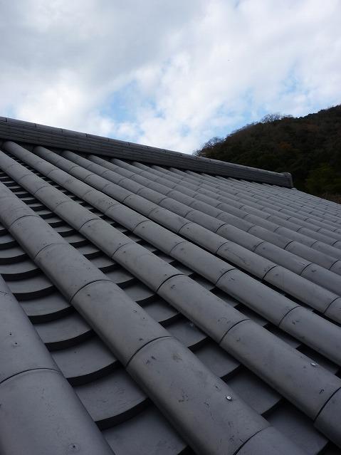 屋根 と 空 (和風)