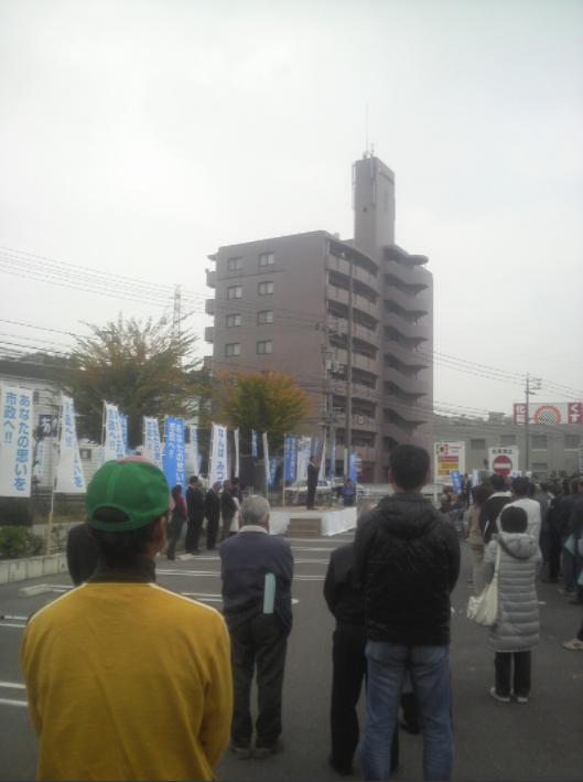 岡山市議会議員選挙幕開け