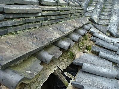 雨漏りは辛抱せず軽微な内に修繕を。 6月19日修繕