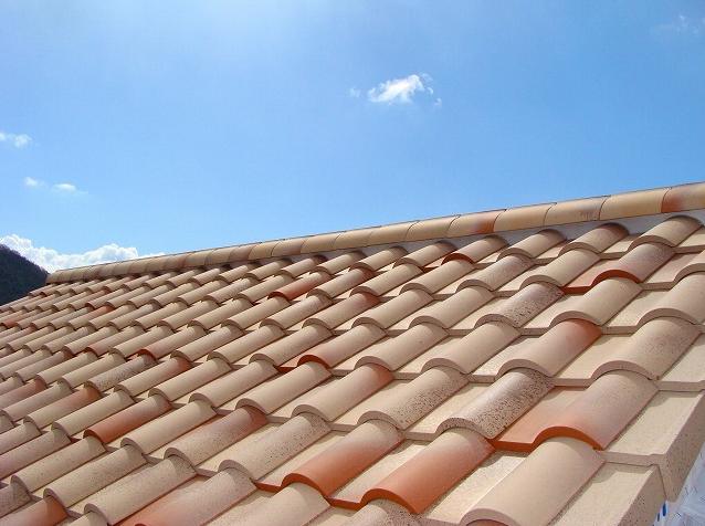 空 と 屋根 (洋風)