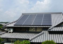 屋根+太陽光発電
