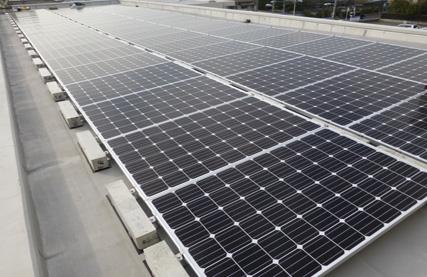太陽光発電設備工事 マンションのケース 岡山市北区野田