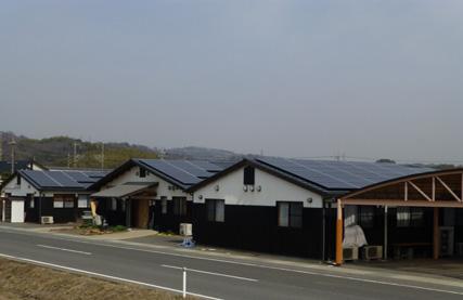 太陽光発電設備工事 デイサービスのケース 倉敷市