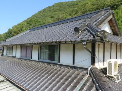 入母屋屋根の棟の構造ってどんなになっているのかな?
