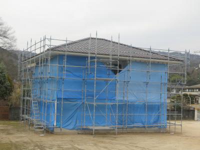岡山市北区 新築施工