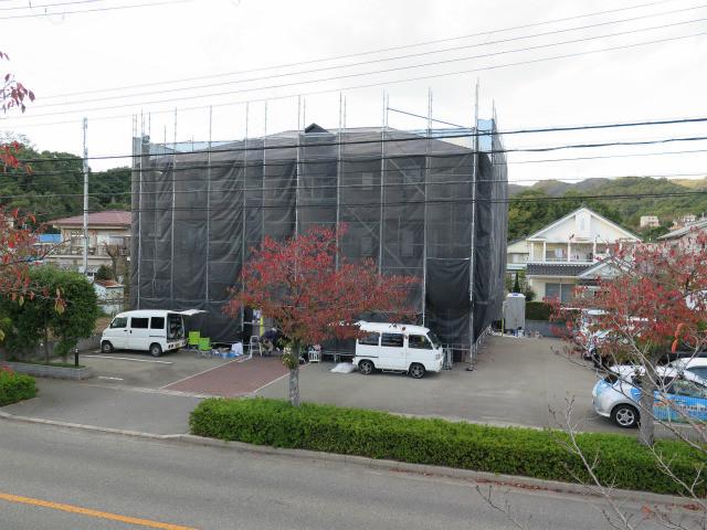 集合住宅(アパート)塗装工事