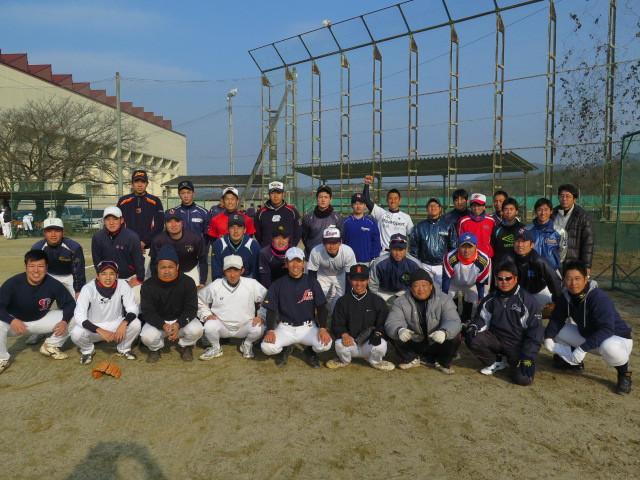 岡山高校野球東部支部OB野球大会