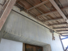 岡山市北区御津 N様雨漏れ簡易修繕工事