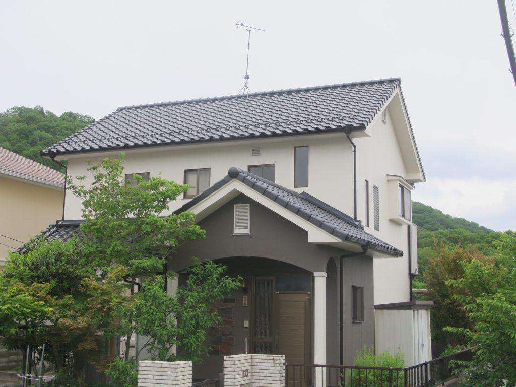 屋根葺き替え工事&塗装工事