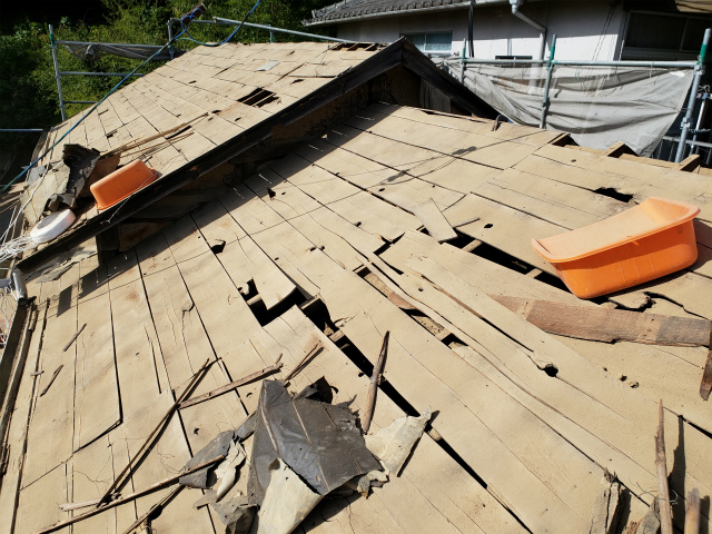 施工事例:雨漏れ修繕工事