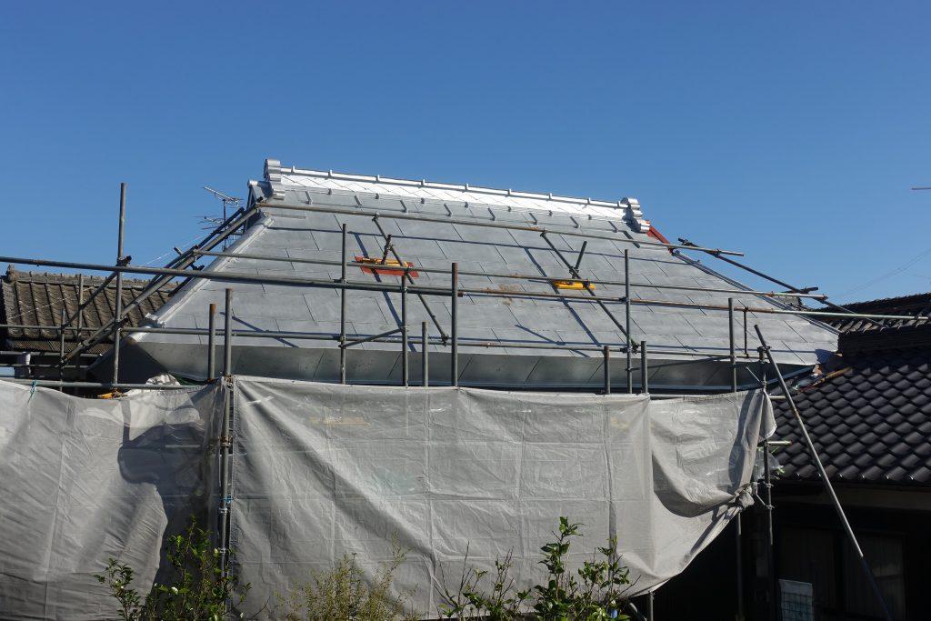施工事例:トタン屋根塗装&屋根修繕工事