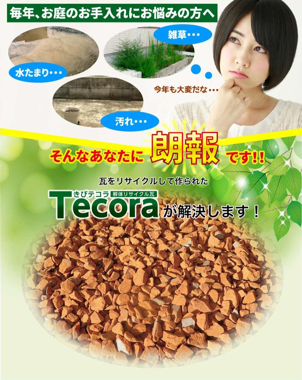 きびテコラ(Tecora)瓦リサイクルはひろやす瓦がスピード対応!岡山の方限定!無料お見積り特典&屋根修理ご成約特典