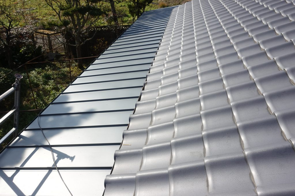 施工事例:板金屋根張替え工事