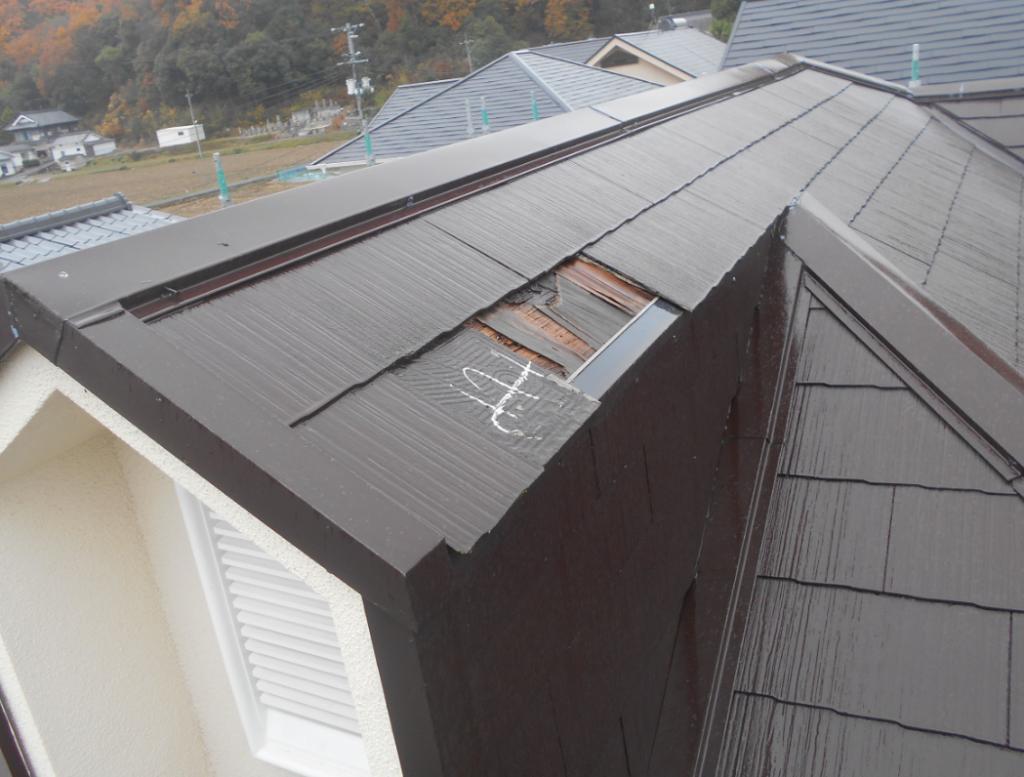 施工事例:屋根・塗装・樋