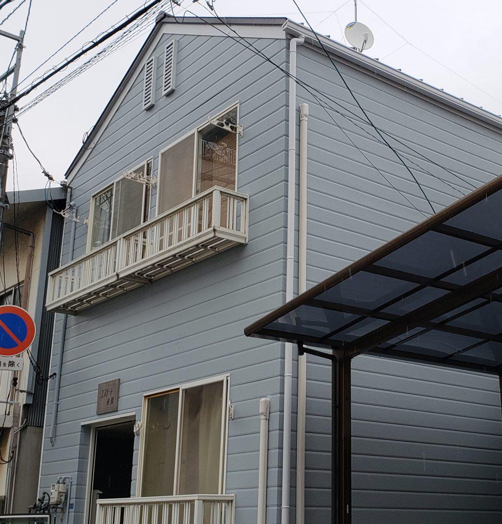 施工事例:アパート屋根替え&外壁塗装 その他修繕工事