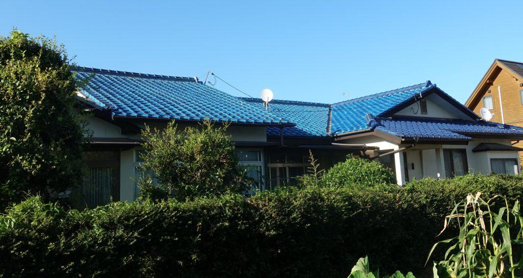 施工事例:屋根葺き替え工事&太陽光設置&きびテコラ