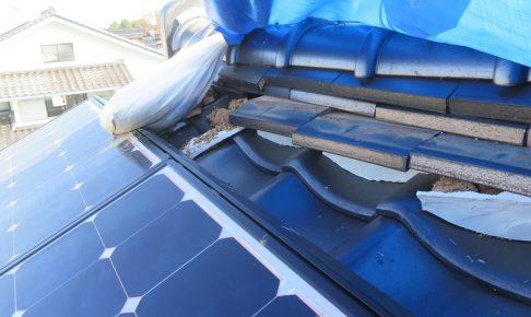 施工事例:鳥取地震被害修繕