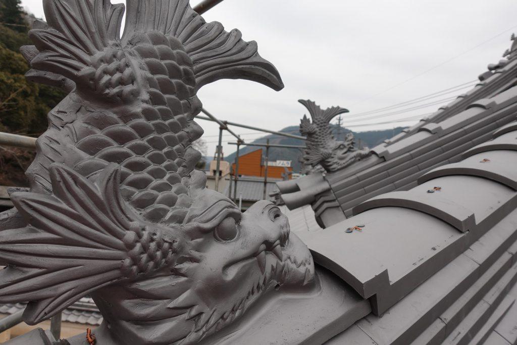 施工事例:妙覚寺鐘楼(鐘撞き堂)工事