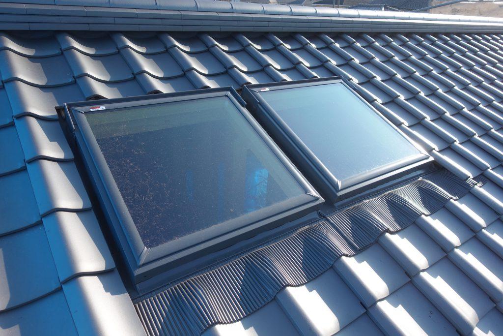 施工事例:新築 明かり取り窓設置
