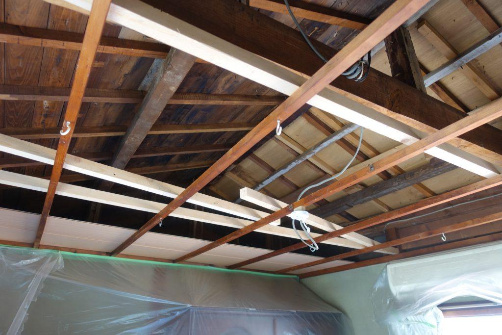 施工事例:天井張り替え
