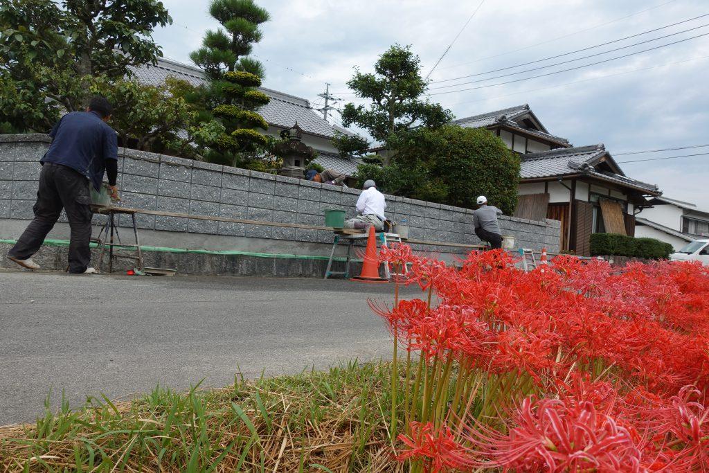 施工事例:ブロック塀の造り替え