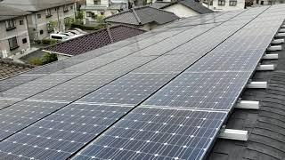屋根点検 太陽光10年点検 屋根塗装点検 マンション 雨漏れ調査【動画】
