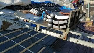 屋根瓦工事の際にはこんな道具が登場します【動画】