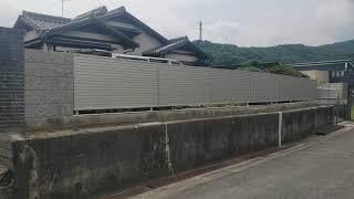 施工事例:ブロック塀・フェンス工事【動画②】