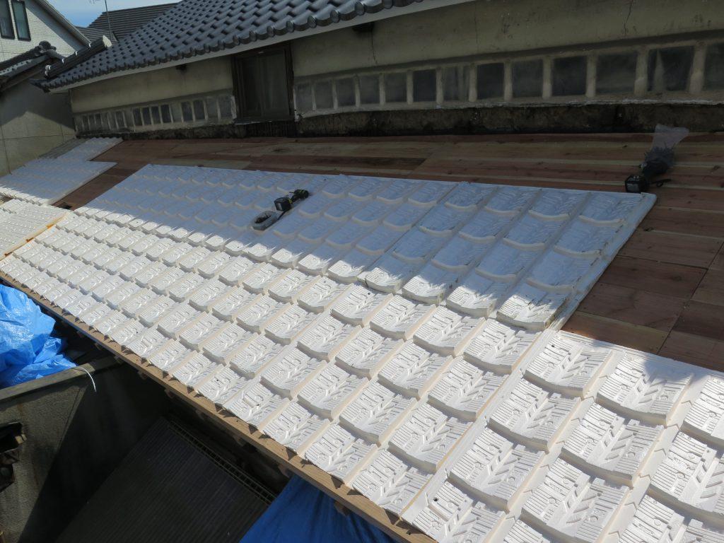 屋根工事 外断熱工法