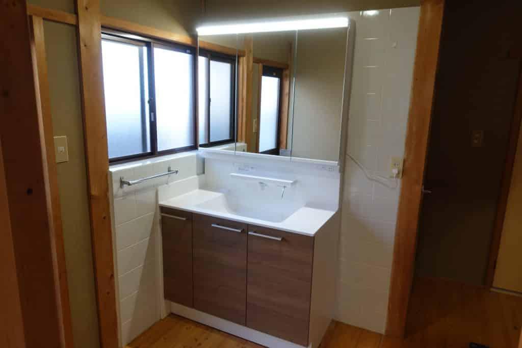施工事例:洗面台の取替え