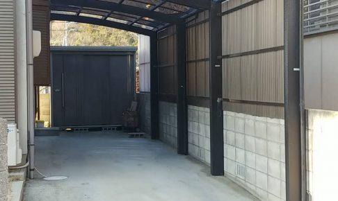 施工事例:カーポート屋根張替え