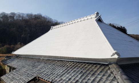 施工事例:屋根塗装