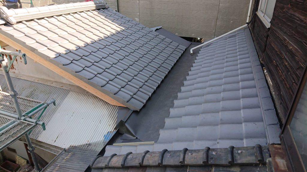 施工事例:屋根葺き替え工事