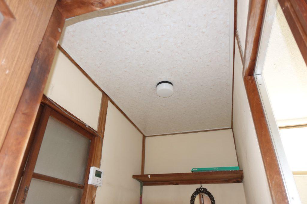 施工事例:天井の張替え