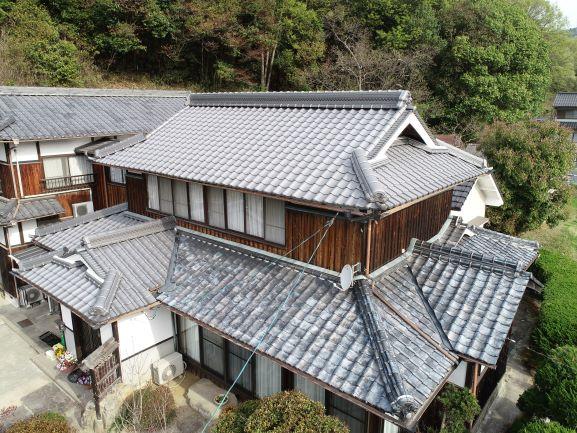 施工事例:大屋根、離れ 改修・修繕工事