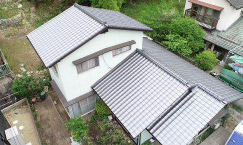 施工事例:屋根の葺き替え・樋掛け