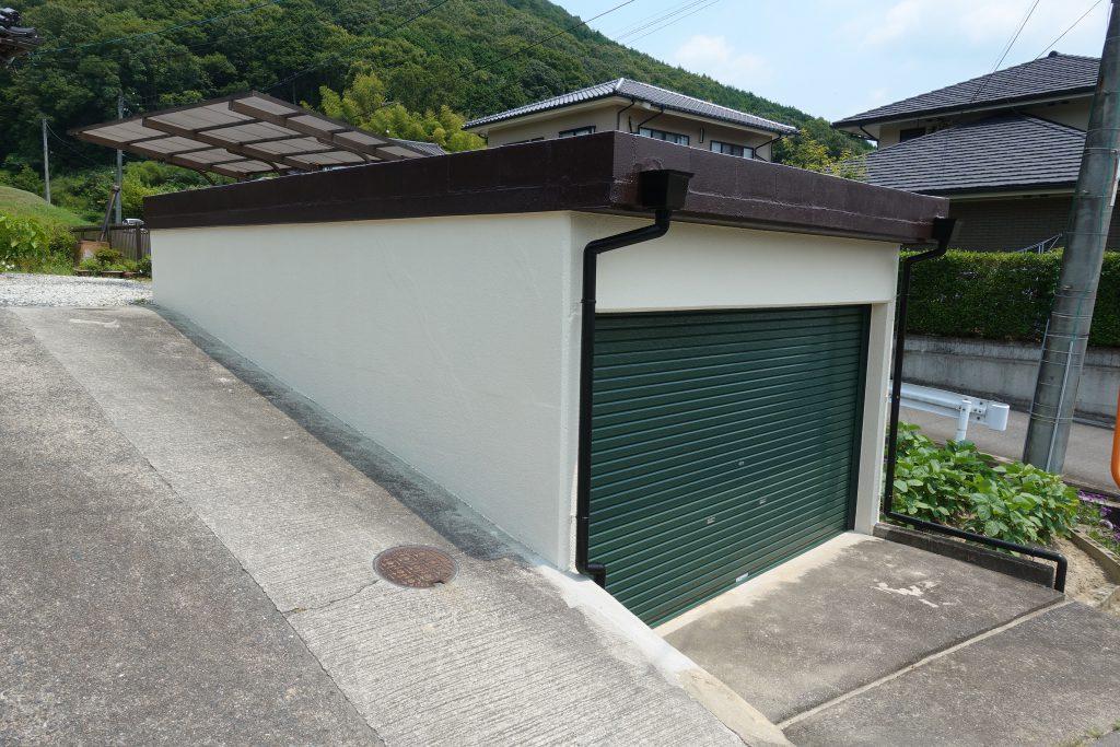 施工事例:車庫防水