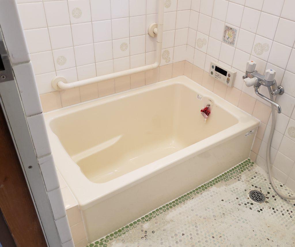 在来浴室リフォーム:浴槽のみ交換🛁