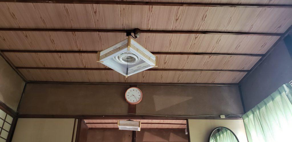 施工事例:天井張り替え工事(大工工事)