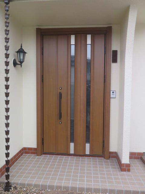 施工事例:玄関ドア交換
