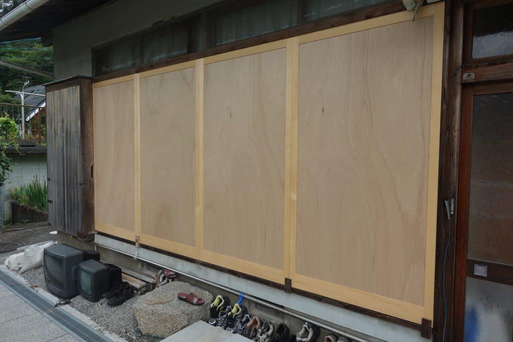 施工事例:雨戸交換工事