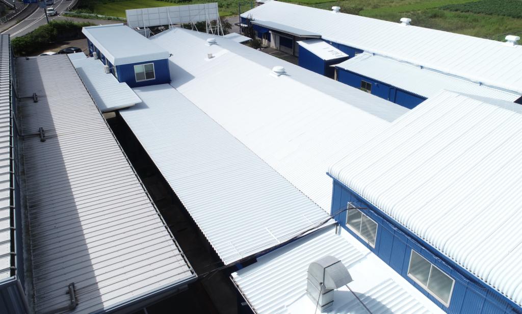 施工事例:工場屋根・外壁塗装工事