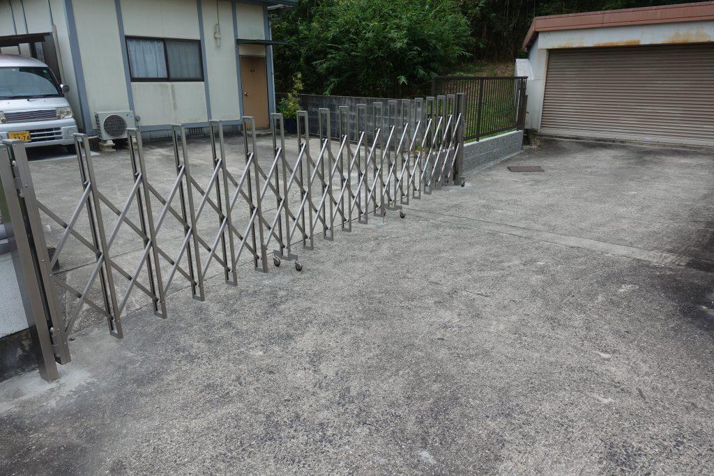 施工事例:駐車スペースの整地など