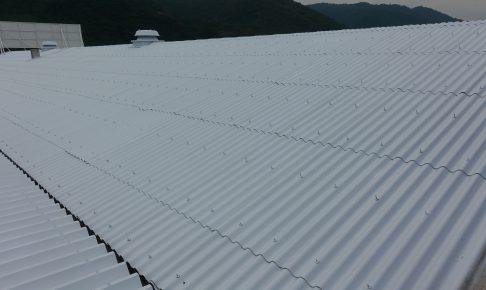 施工事例:工場屋根塗装工事
