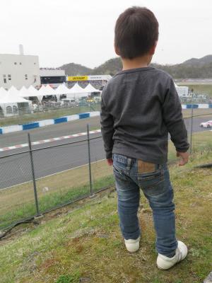 廣安廉二郎 3歳